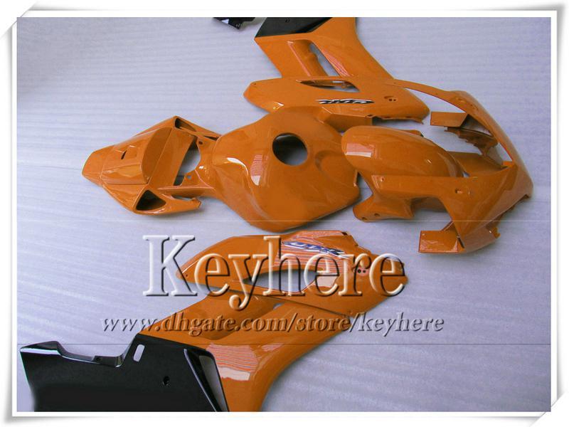 Einspritzung orange schwarzer Körper kit für Honda cbr1000rr Verkleidung CBR 1000RR 2004 2005 Verkleidungen CBR1000RR 04 05 Aftermarket mit 7 Geschenken Ta13