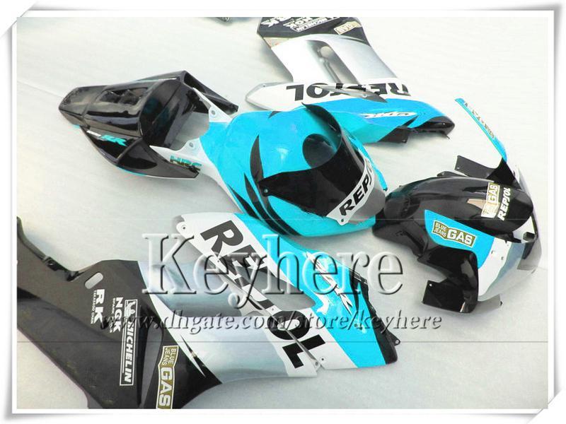 Injectie Blue Repsol Body Kit voor Honda CBR1000RR Fairing CBR 1000RR 2004 2005 Verklei CBR1000RR 04 05 Aftermarket met 7 geschenken TA22