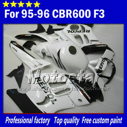 $enCountryForm.capitalKeyWord NZ - Motorcycle fairings parts for HONDA CBR600F3 95 96 cbr600 f3 1995 1996 CBR 600 F3 fairing glossy white black Repsol