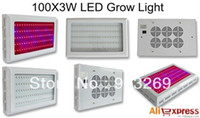 Wholesale High Power Grow Lights - Free Shipping+2013 New Design 100*3w High Power Red:Blue(8:1)Color Led Grow Light with Strong Penetration Approved