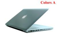 Wholesale Cheap Macbook Pro 13 Covers - Cheap Matte Flip Rubberized Protector Cover Case for 13 Inch Apple Macbook Pro 5pcs