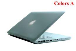 Wholesale Macbook Cases For Cheap - Cheap Matte Flip Rubberized Protector Cover Case for 13 Inch Apple Macbook Pro 5pcs