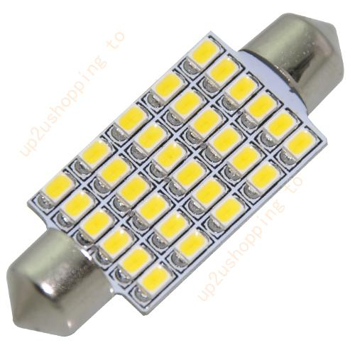 1 72 30 SMD LED Bulbs for Car Interior Dome Light Warm White for