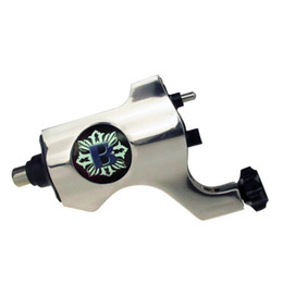 Wholesale Rotary Tattoo Machine Rca - Professional Bishop New Rotary Tattoo Machine Gun Shader Liner with RCA Jack Silver