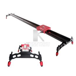 Wholesale Camera Rails - Kamerar 60cm Professional Camera Video Rail Slider For DSLR Camera 60D 6D 7D 5D II III 5D3 D800 Free Shipping