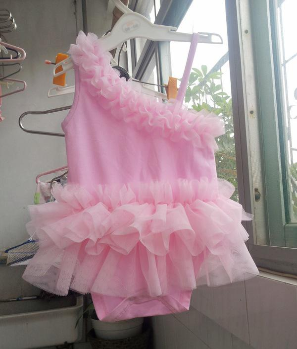 f3a698dd84d 2019 Tutu Baby One Piece Romper Fashion Beautiful Baby Romper Layers Tutu  Princess Dress Newborn Romper Baby Wear Toddler Clothing Christmas From ...