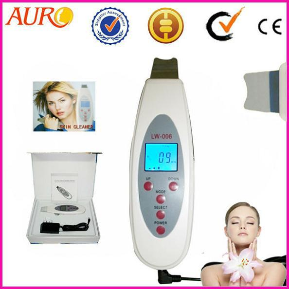 best selling Christmas promotion Portable Hot Selling Ultrasonic Skin Cleaner and Beauty Machine for personal home use AU-006