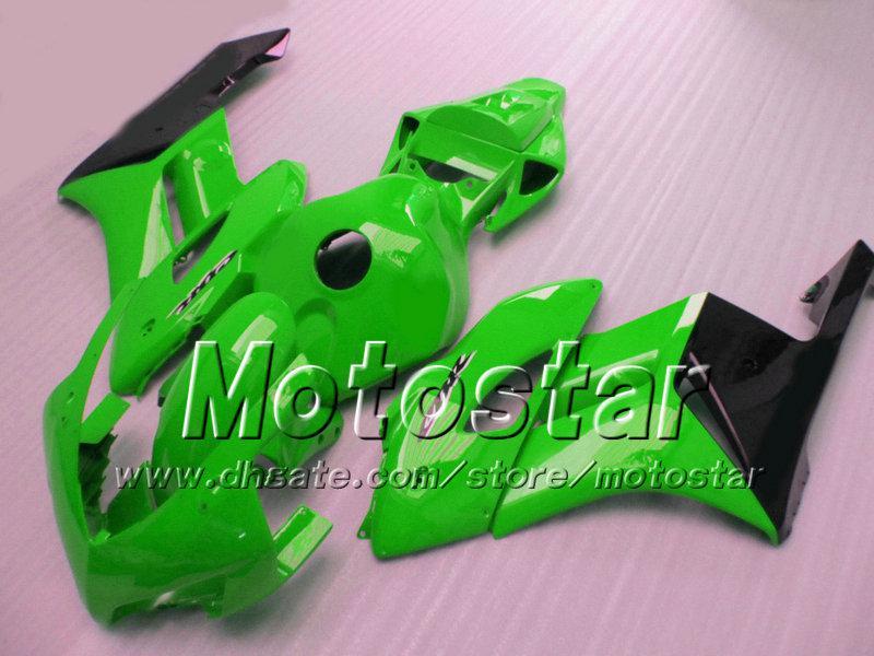 7 Geschenke für HONDA CBR1000RR Verkleidungen Karosserie 04 05 CBR 1000RR Verkleidungsset 2004 2005 glänzend grasgrün schwarz si107