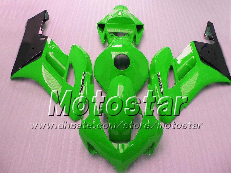 7 Regalos para carenados HONDA CBR1000RR carrocería 04 05 CBR 1000RR carenado set 2004 2005 grass grass green black si107