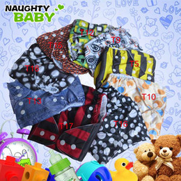 cloth diapers snaps UK - Free Shipping Baby Cloth Diaper Covers Fabric Single Row snap One Pocket Cloth Diapers Without Insert 120 pcs One Pocket Diaper Covers