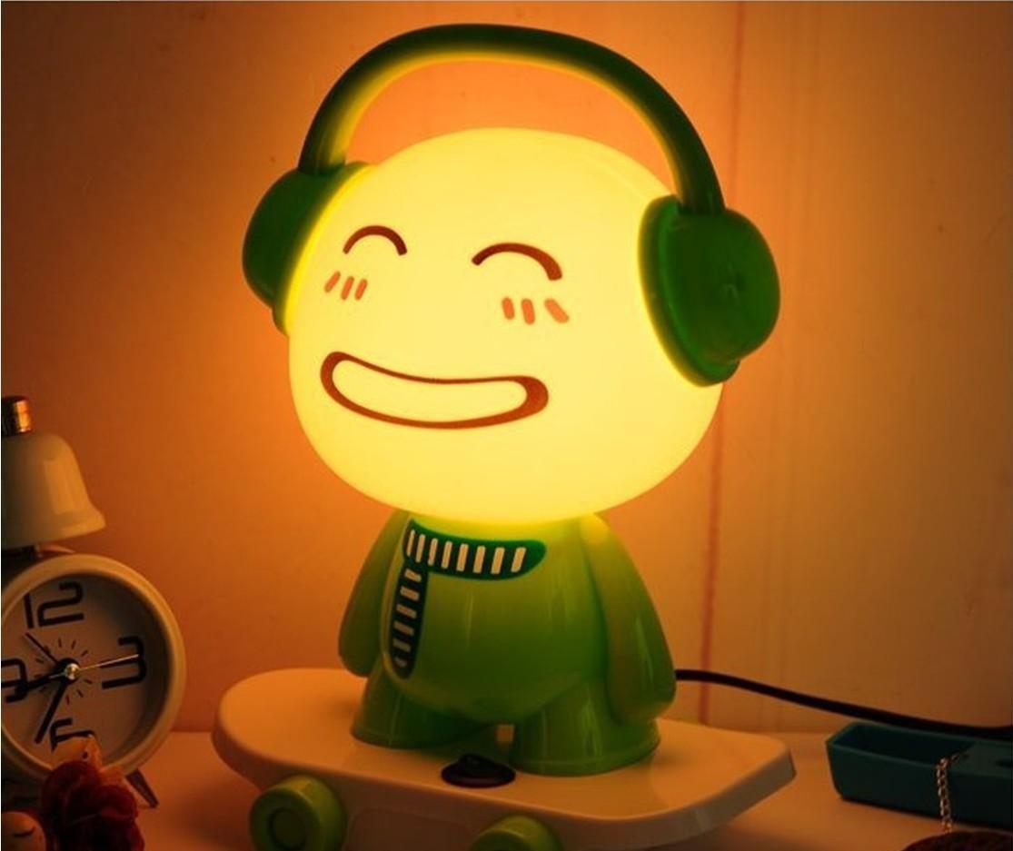 Lamps with night light - 2018 Skateboarding Night Light Lamp Dj Boy Cartoon Lamps Fashion Lamp Desk Lamp From Chencheng1990 27 3 Dhgate Com