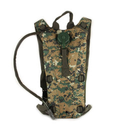 Wholesale Water Bits - Outdoors Airsoft Tactical Water Hydration Carrier BackPack with Shoulder Strap 2.5 L Bladder Bite Valve Drink Tube