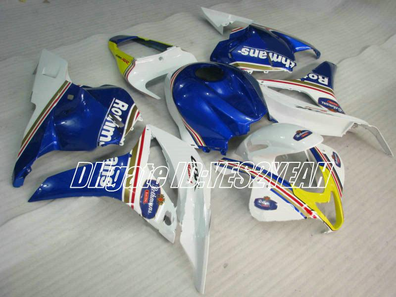 Carenagem de injecção para HONDA CBR600RR 09 10 CBR 600RR CBR 600 RR CBR600 F5 2009 2010 Carenagem kit corpo + presentes Hx37