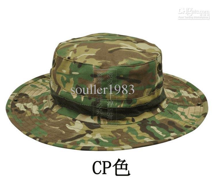 US Army BONNIE HATS Round-brimmed Sun Bonnet James Super Light Sniper fishing Hat 65% polyester 35% cotton
