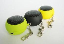 Wholesale Mini Hamburg Speaker - DK-601B Mini Hamburg MP3 4 outdoor laptop speaker phone loud speaker mini speaker subwoofer FV15
