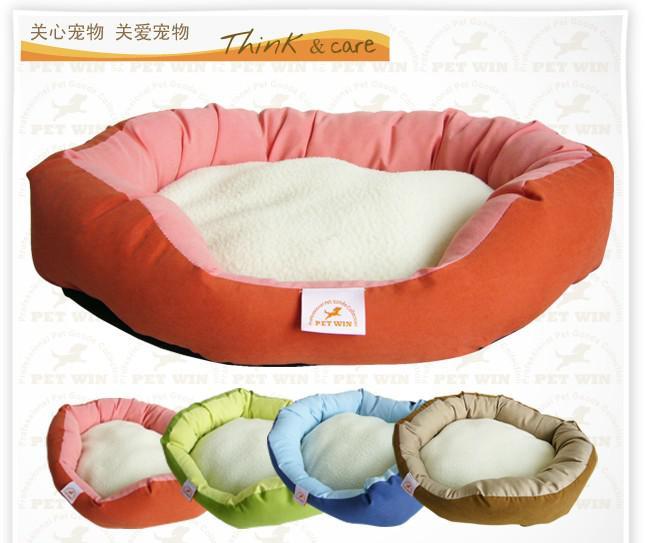 Berber Fleece Luxury Dog House Warm Soft House Pet Dog Cat Bed Pet Mat Pad House Dog Nest M,L Size