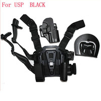 Wholesale For Compact USP Type Pistol Tactical Puttee Thigh Belt Drop Leg Holster Pouch
