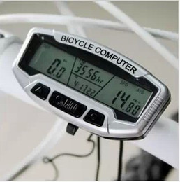 Wholesale Digital Lcd Bike Bicycle Computer - Hot New free shipping with tracking number Digital LCD Backlight Bike Bicycle Computer Odometer Speedometer SD558A Clock Stopwatch 782