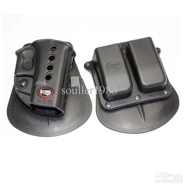 Palette FROG Evolution Holster RH GL-2 ND pour G 17/19/22/23/27/31/32/34/35 6900RP Pochette Double Mag G 9 40, HK 940