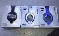 Wholesale Fits Computer Cases - White black blue SOL Master Tracks Over-ear headphones Sol Republic Master Tracks Slim-Fit Carrying Case Headphones