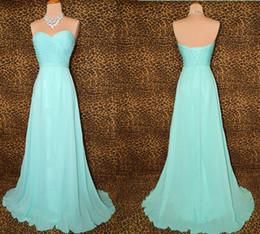 Longitud del piso por encargo plisada gasa novia azul claro vestidos de dama de honor del vestido de fiesta del banquete de boda vestido de noche DH1226 desde fabricantes