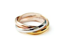 Wholesale 925 Ring Swarovski - new 925 silver rings gold silver rose gold ring Rings ring Swarovski high quality 5pcs