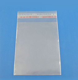 Wholesale 5x7cm Pouches - MIC 400pcs lot 5x7cm Clear Self Adhesive Seal Plastic Bags Jewelry Packaging & Display Jewelry Pouches, Bags
