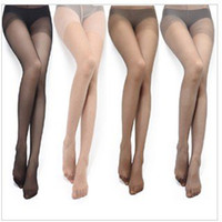 Wholesale Sounding Hose - Factory direct sale sound LangSha silk socks core-spun yarn with fork of ultra-thin sexy female panty hose 10pair
