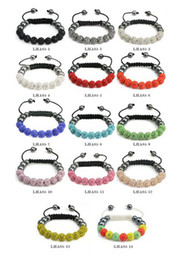 Wholesale Cheap Wholesale Jewelry Free Shipping - Free shipping! Cheap 14 Best color Mixed Micro Pave CZ Disco10mm Ball Bead High Quality Micro Pave Crystal Shamballa Bracelet women jewelry