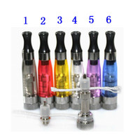Wholesale Ego Atomizer Ce4 Changeable - Hot Colorful 1.6ml Changeable coil Atomizer ego ce4 plus E-cigarette Clear clearomizer Electronic Cigarette atomizer DHL Free