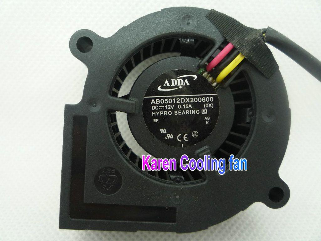 Nuevo ADDA original 5 cm AB05012DX200600 5020 12v 0.15a Ventilador ventilador de refrigeración