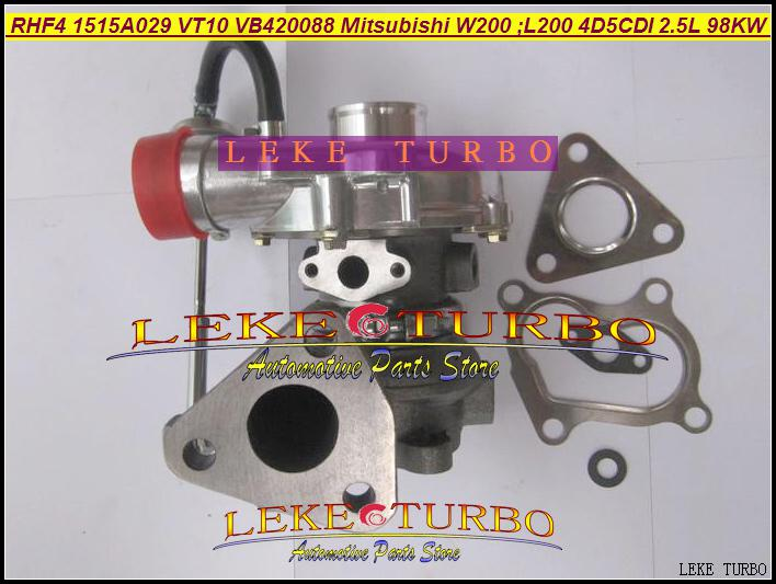 도매 RHF4 1515A029 VT10 VA420088 VB420088 미츠비시 W200 자동차 용 VC420088 터보 터빈 터보 충전기, L200 트럭 2006 4D5CDI 2.5L 98KW