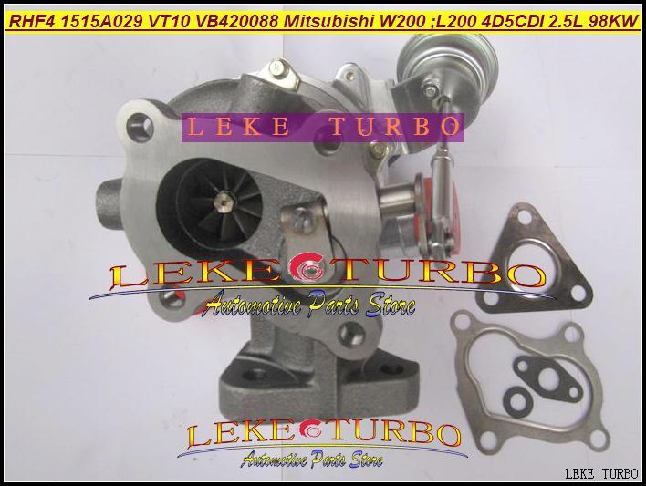 Turbo Chra Turbocompresor Cartucho Core RHF4 VT10 1515A029 VA420088 VC420088 PARA MITSUBISHI W200 CAR L200 Truck 4D5CDI 2.5L DI-D 4WD 98KW