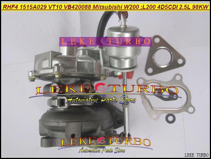 Groothandel RHF4 1515A029 VT10 VA420088 VB420088 VC420088 Turbo Turbine Turbocharger voor Mitsubishi W200 auto; L200 Truck 2006 4D5CDI 2.5L 98KW