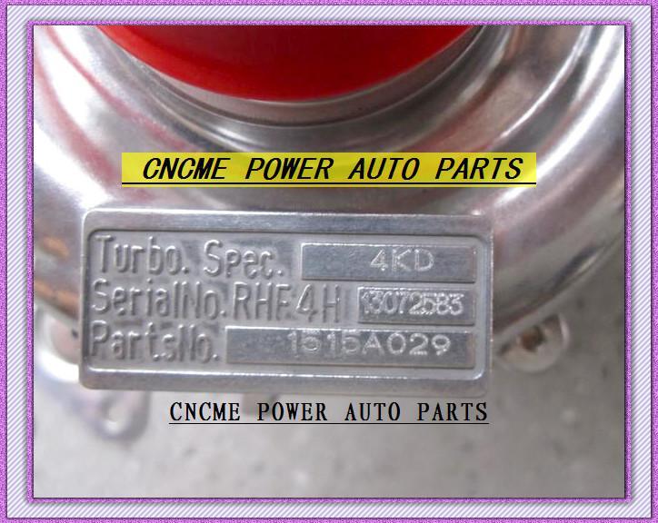 BEST TURBO RHF4H VT10 1515A029 VA420088 Turbine Turbolader für Mitsubishi W200 2006-; L200 LKW 2005-2006 Motor 4D5CDI 2.5L TD 98KW 136HP