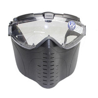 glasses paintball goggles - Hot Brand New Marui Anti Fog Electric Fan Ventilated Goggle Airsoft paintball Full Face Mask