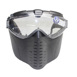 China Hot Brand New Marui Anti-Fog Electric Fan Ventilated Goggle Airsoft paintball Full Face Mask Free Shipping suppliers