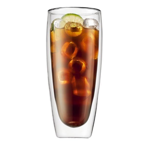 Bodum Pavina Double Wall Glass 600ml Tumbler Glass Coffee