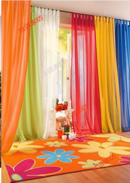 Wholesale China Curtains Wholesale - hot & wholesale,europe gauze curtain,21 kind of color to choose,free shipping by China Post Air Mail &50% discount by EMS