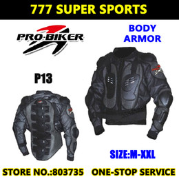 Wholesale Motorcycle Back Armor - Professional Motorcycle Chest Protector Back Pads Body Knight Armor Super Energy absorbing Protective Gears P13