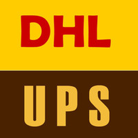 postage DHL OR UPS
