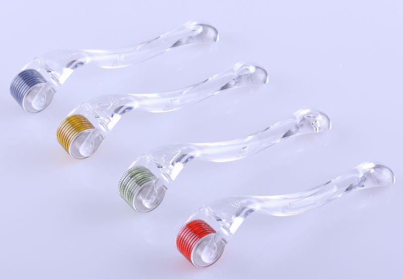 Hurtownie 540 igieł Derma Roller Micro Igła do pielęgnacji skóry Leczenie trądzikowe, Derma Roller.Micrononeedle Roller 50 sztuk / partia