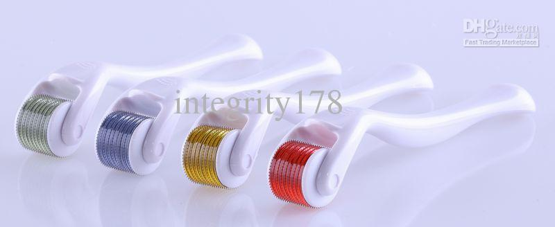 Wholesale 540 needles derma roller micro needle for skin care acne treatment, derma roller.Microneedle Roller