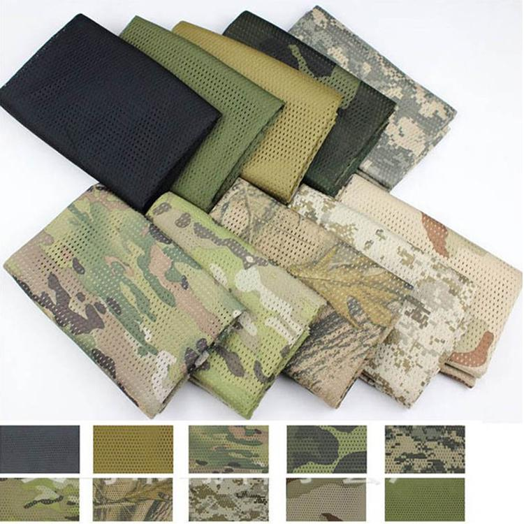155*50cm Tactical Scarf Face Veil For Hunting Airsoft Multi Purpose Camping  Hiking Cycling Survival Scrim Scarves
