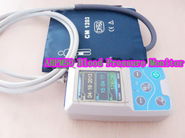 Wholesale Abpm Holter - CONTEC NIBP Monitor Ambulatory Blood Pressure Monitor Holter ABPM with 3 Cuff+TLC5000+new version compatible cables