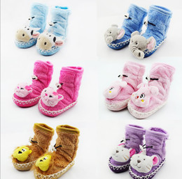 Wholesale High Waist Boots Toddler - 10%off!On sale Rope cartoon baby shoes, 6 color high waist cotton infant baby boots,sock,toddler shoes,cheap shoes,baby wear,12pairs 24pcs.J