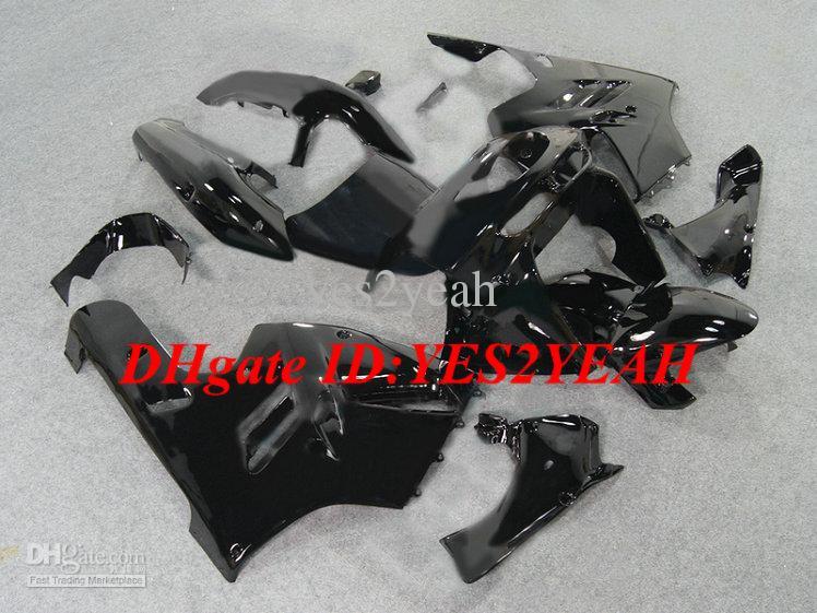 طقم هيكل السيارة لكوازاكي نينجا ZX9R 94 95 96 97 هيكل السيارة ZX 9R 1994 1996 1997 أسود Fairings set + gifts KG22