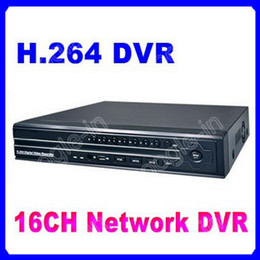 Wholesale Wholesale Hd Surveillance Systems - 10pc lot HD H.264 Standalone 16CH Channel Real-time Surveillance Home Security Digital CCTV DVR System
