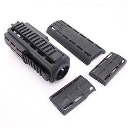 Guardia di mano online-Drss Tapco Intrafuse AR-15 Handguard For Hunting Black (BK)