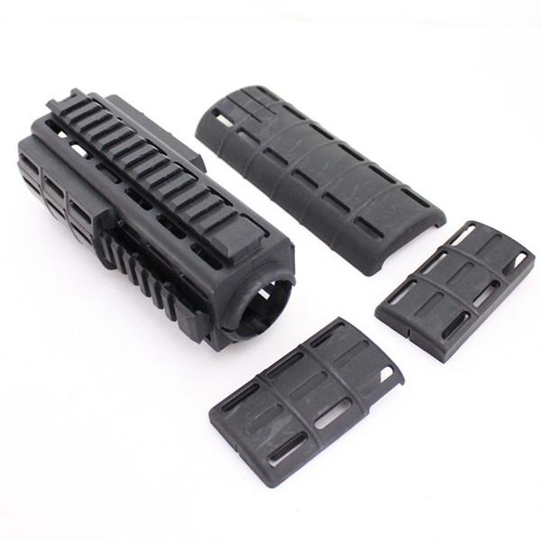 Drss Tapco Intrafuse AR-15 Handguard For Hunting Black (BK)